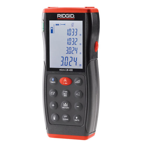 Ridgid LM-400 (36813) Advanced Laser Distance Meter (70 metres)