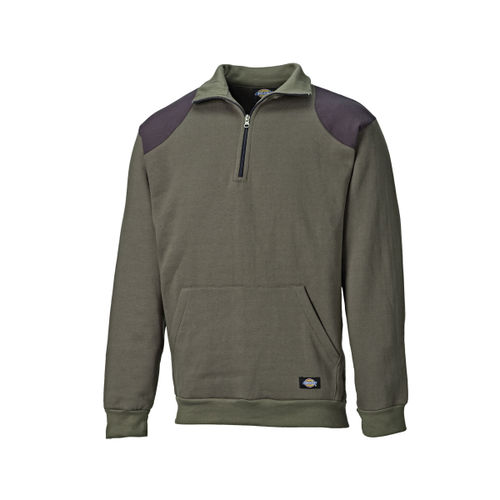 Dickies AG8500 Kendrick Sweatshirt (Dark Moss Green) - SMALL