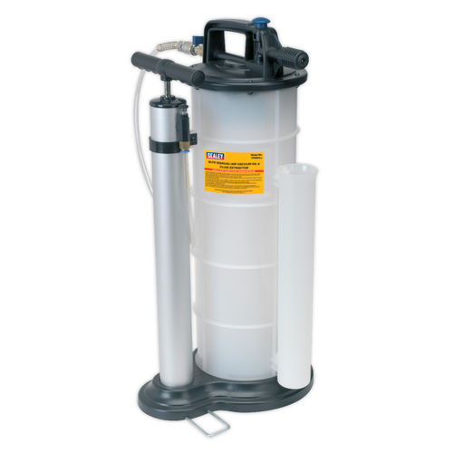 Sealey TP6904 Vacuum Oil & Fluid Extractor Manual/air 9ltr