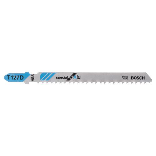 Bosch T127D (2608631017) Aluminium Cutting 3 - 15mm Jigsaw Blades (5 Pack)