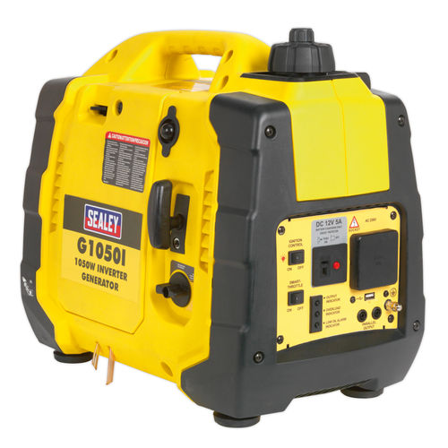 Sealey G1050I Inverter Generator 1050W 240V 4-Stroke Engine