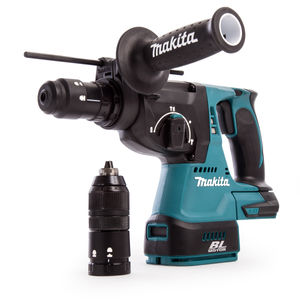 Makita DHR243Z 18V Li-ion SDS+ Brushless 3 Mode Rotary Hammer Drill 24mm with Quick Change Chuck (Body Only)