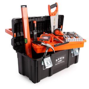 Bahco 4750PTB65TS1 General Purpose Tool Box Kit 48 Piece
