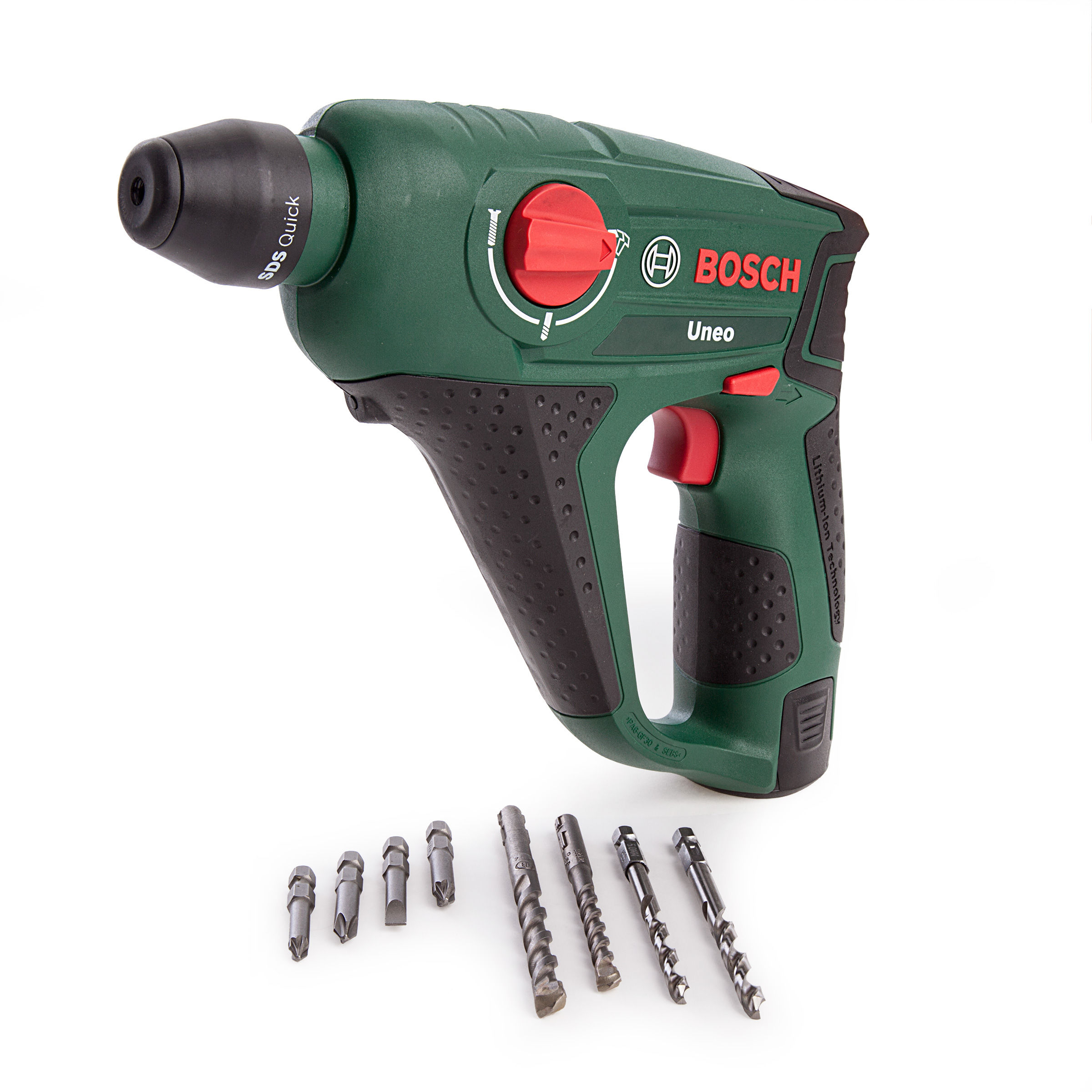 toolstop bosch uneo 10 8 li 2 rotary hammer drill 1 x 1 5ah batteries. Black Bedroom Furniture Sets. Home Design Ideas
