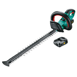 Bosch UNI18-550 Cordless 18V Universal Hedgecutter 550mm (2 x 2.0Ah Batteries)