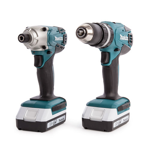 Makita DK18015X1 18V Li-Ion G-Series Twin Pack (2 x 1.5Ah Batteries)