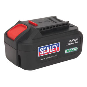 Sealey CP20VBP Cordless Power Tool Battery For CP20V Series 20V 3ah Li-ion
