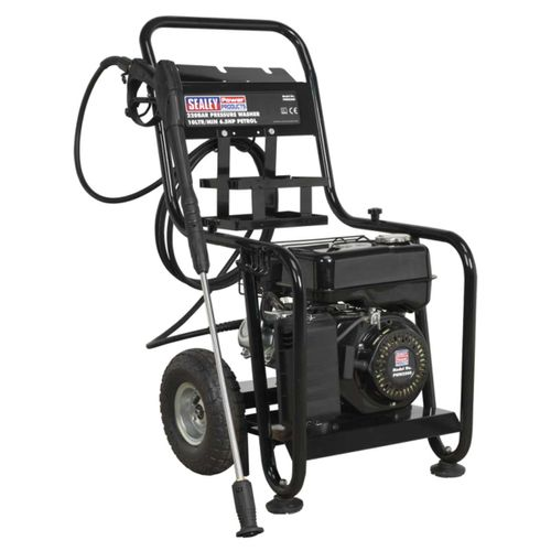 Sealey PWM2500 Pressure Washer 220bar 10ltr/min 6.5hp Petrol