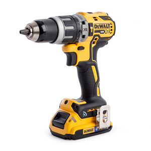 Dewalt DCD797D2B 18V XR Brushless Tool Connect Compact Combi Drill Driver in TSTAK Box (2 x 2.0Ah Batteries)