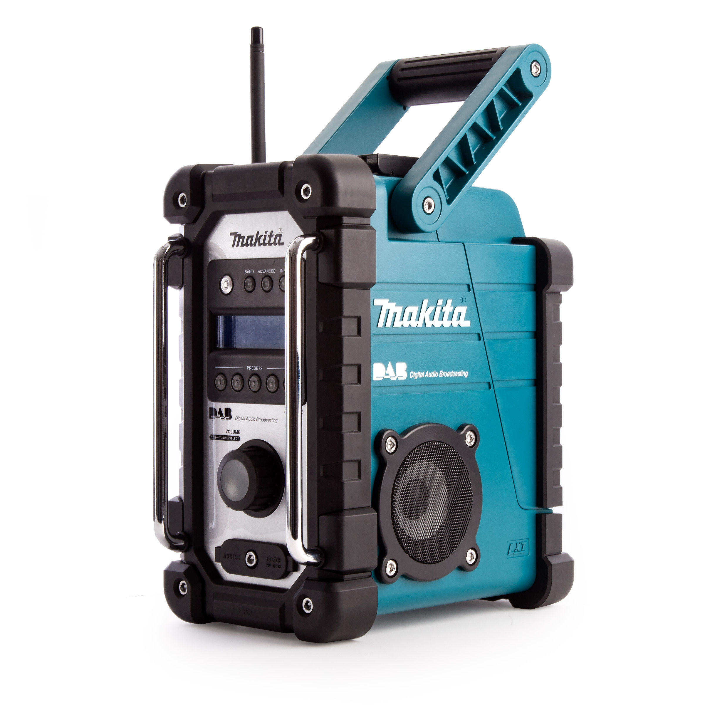Toolstop Makita DMR104 Job Site Radio Stereo with DAB and FM ...