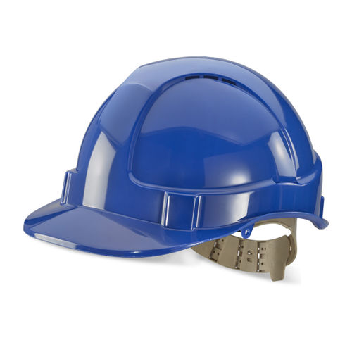 Beeswift BS076B Vented Safety Helmet - Blue