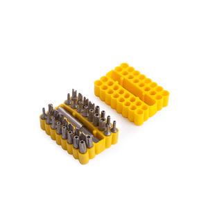 BlueSpot 14151 Security Screwdriver Bit Set (33 Piece)