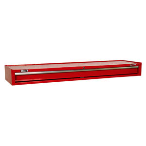 Sealey AP6601 Add-on Chest 1 Drawer With Ball Bearing Runners Heavy-duty - Red