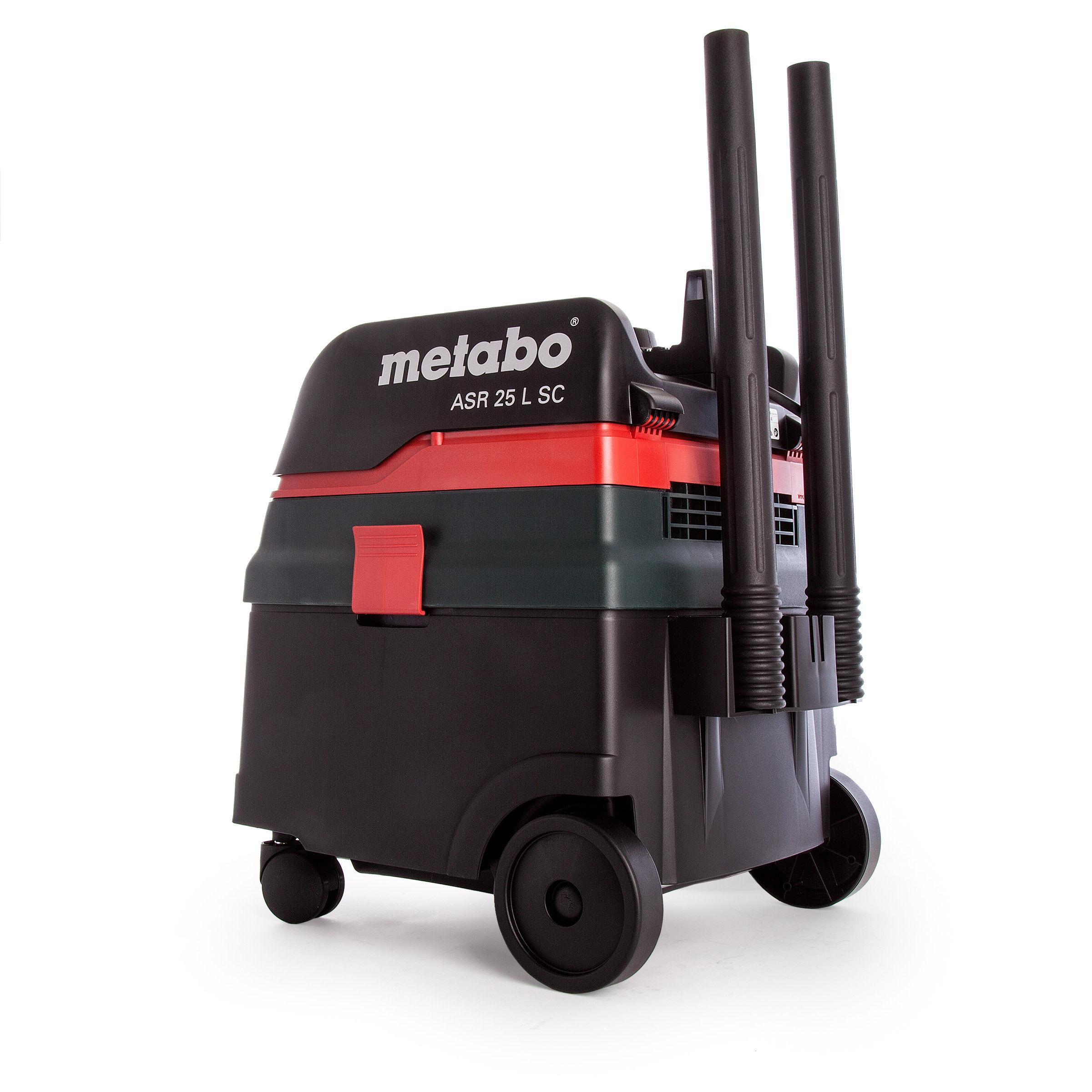 Toolstop Metabo Asr25lsc All Purpose Vacuum Cleaner 110v