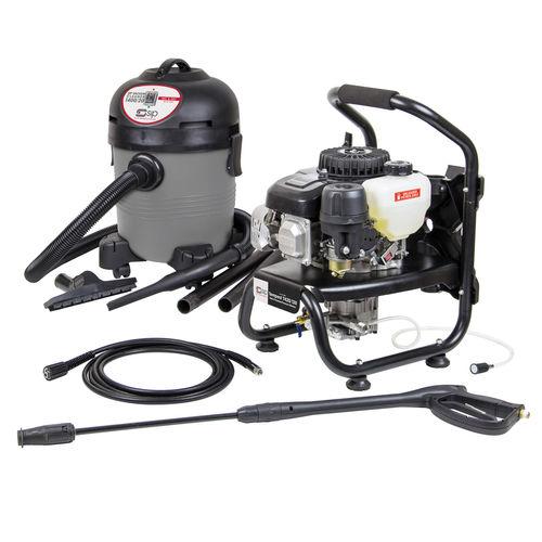 SIP 08912SUM17 TP420/130 Petrol Pressure Washer & 07907 Wet/Dry Vacuum Cleaner 240V