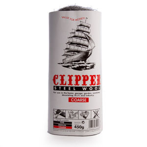 Clipper ABWW3 Steel Wool Coarse Grade 450g