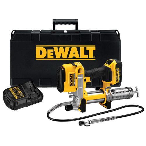 Dewalt DCGG571M1 18V XR Cordless li-ion Grease Gun (1 x 4Ah Battery)