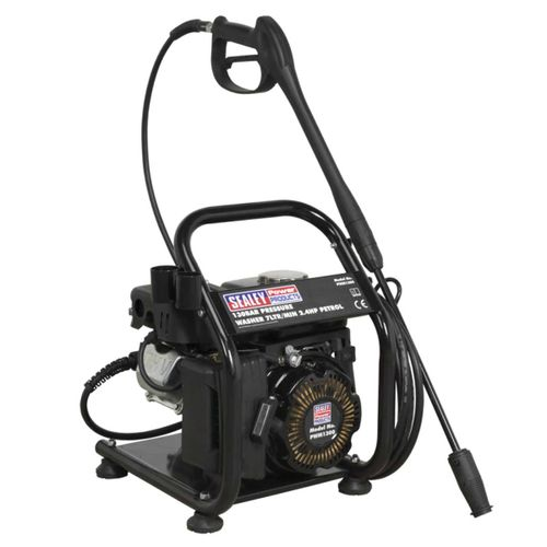 Sealey PWM1300 Petrol Pressure Washer 130 Bar 7ltr/min 2.4hp