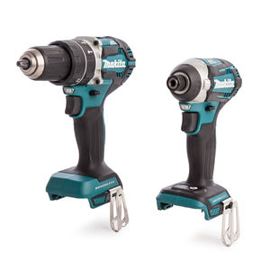 Makita DLX2181JX1 Brushless Cordless Twinpack Kit DHP484Z & DTD154Z (Body Only)