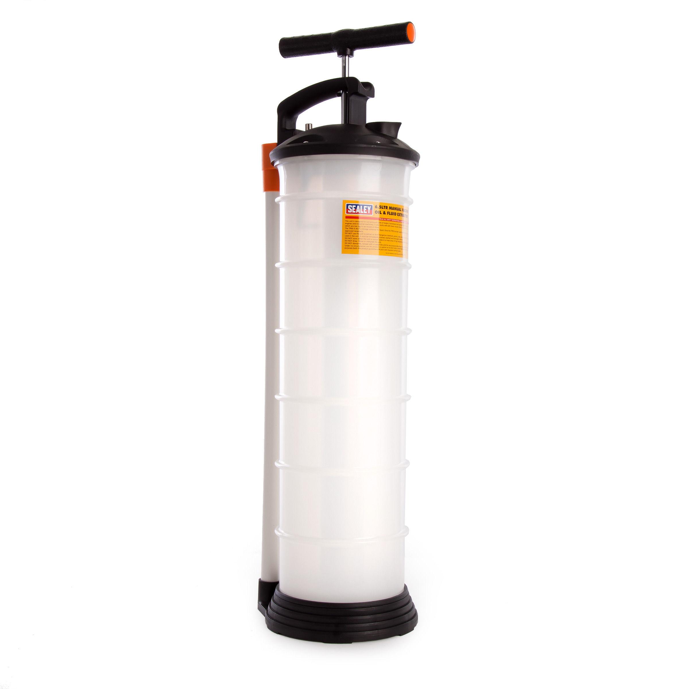 Sealey TP69 Vacuum Oil & Fluid Extractor Manual 6 5 Litres