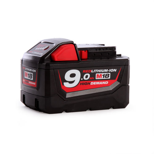 Milwaukee M18B9 18V 9.0Ah Red Lithium-Ion Battery