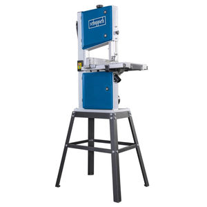 Scheppach HBS250 Bandsaw 10 Inch with Leg Stand and Mitre Guide 240V