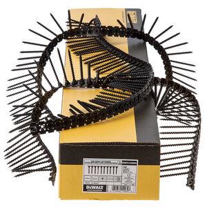 Dewalt DWF4100550 Plastic Collated Drywall Screws Coarse Thread 55mm x 3.5mm (1000 in Box)