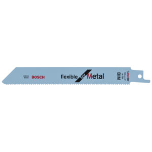 Bosch S922BF (2608656014) Reciprocating Saw Blade 150mm For Metal (5 Pack)