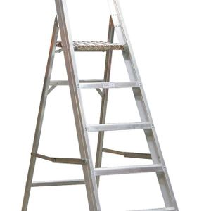 Sealey AXL6 Aluminium Step Ladder 6-tread Industrial Bs 2037/1
