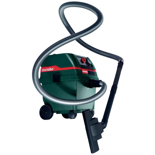 Metabo ASR2025 110V - 1,200W Wet and Dry Vacuum Cleaner - with auto take off