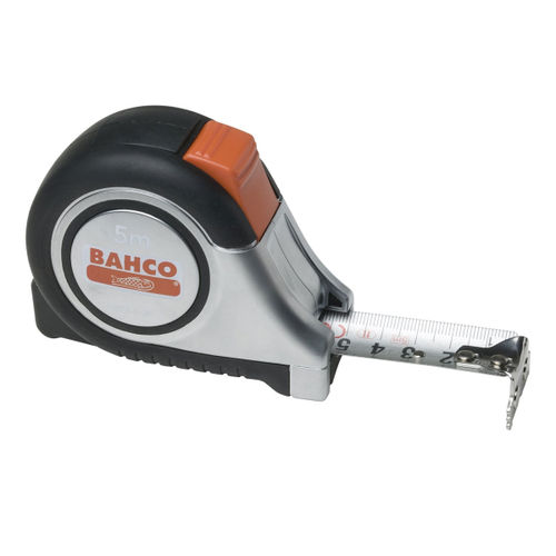 Bahco MTS-8-25-E Auto Tape 8m / 26ft Reversible Magnetic Tip