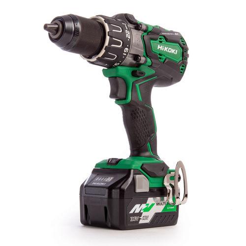 HiKOKI DV 36DAX 36V Multi-Volt Brushless Combi Drill (2 x 2.5Ah Batteries)