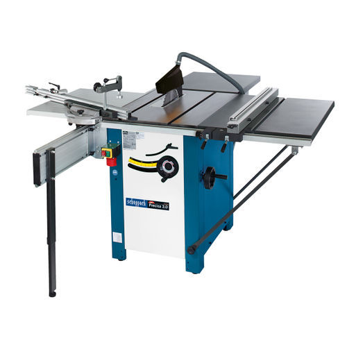 Scheppach Precisa 3.0 - P1 10 Inch Sawbench package with 2.0 STC + TLE + Folding TWE 240V