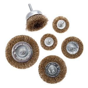 Abracs Wire Wheel and Cup Brush Set 6 Piece