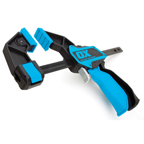 OX P201206 Pro Series Heavy Duty Bar Clamp 6in / 150mm