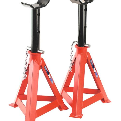 Sealey AS10000 Axle Stands 10tonne Capacity Per Stand 20tonne Per Pair