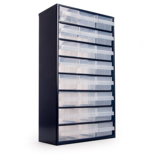 Raaco 137409 Steel Storage Cabinet 24 Drawers (1224-02)