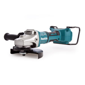 Makita DGA700Z Angle Grinder 180mm 36V Cordless li-ion (Body Only) - accepts 2 x 18V Batteries