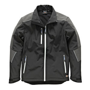 Dickies JW7009 Glenwood Waterproof Breathable Softshell Jacket in Black
