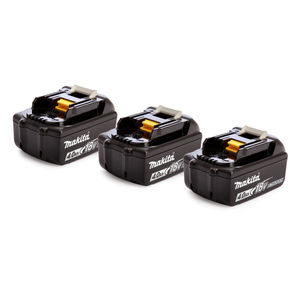 Makita 18V BL1840B Battery Triple Pack 4.0Ah