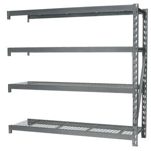 Sealey AP6572E Heavy-duty Racking Extension Pack With 4 Mesh Shelves 800kg Capacity Per Level