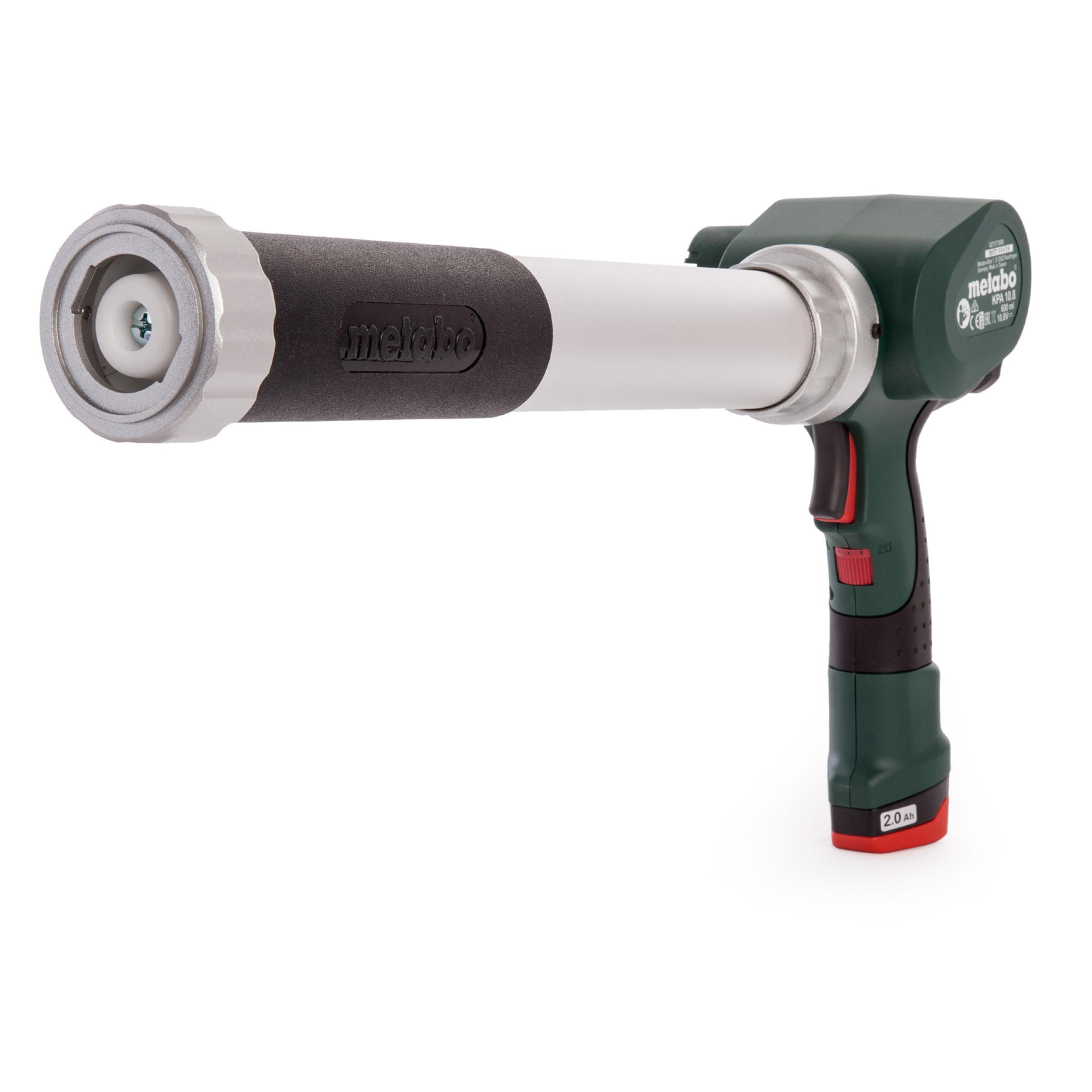 Tools & Electrical Tools Metabo KPA 10.8 600 Cordless 10.8V Caulking Gun (1 x 2.0Ah Battery)