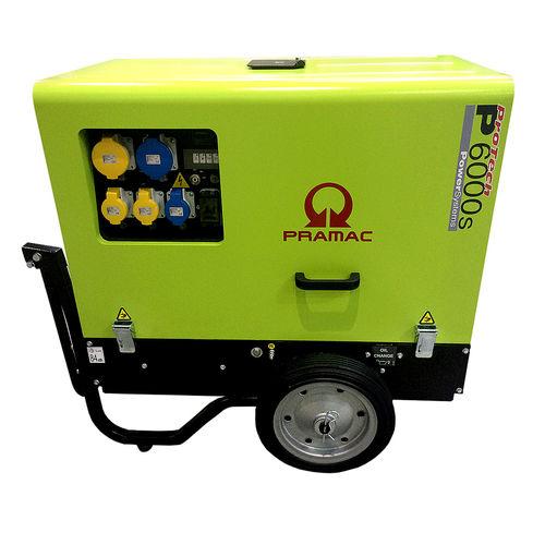 Pramac P6000S Super Diesel Generator 110V/240V