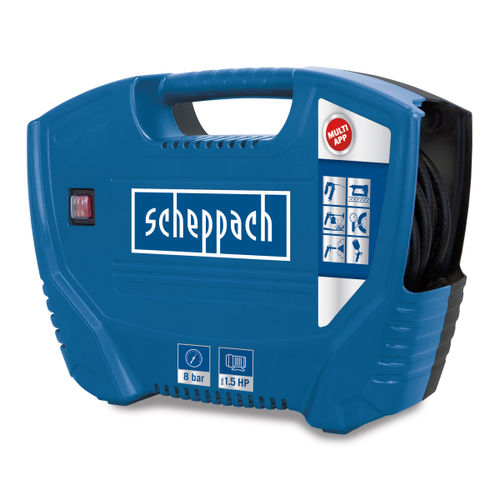 Scheppach Air Force Compressor 8 Bar 1.5HP 240V