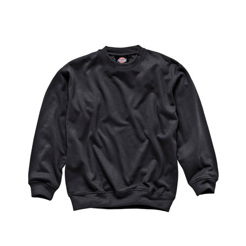 Dickies SH11125 Crew Neck Sweatshirt (Black) - SMALL