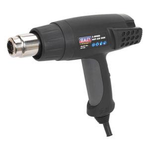Sealey HS100 Hot Air Gun 2000w 3-speed 50/420/650°c 240V