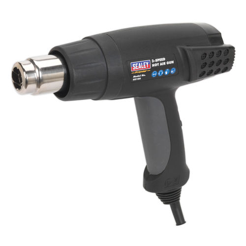 Sealey HS100 Hot Air Gun 2000w 3-speed 50/420/650°c 240V
