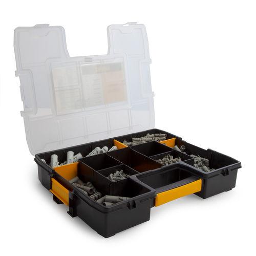 Dewalt DFMJONYPLUG Nylon Plug Kit in Organiser (395 Piece)