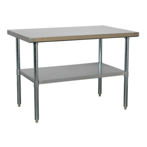 Sealey AP1248SS Stainless Steel Workbench 1.2mtr