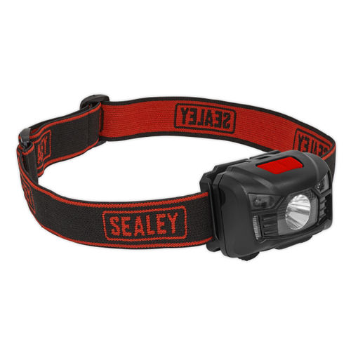 Sealey HT102R Rechargeable Head Torch 3W CREE XPE LED Auto Sensor